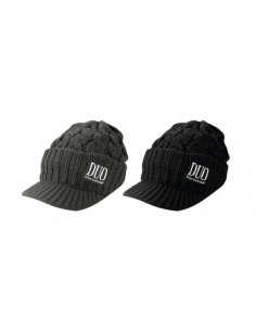DUO Beanie Knit Cap / black - Grei