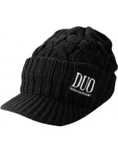 DUO Beanie Knit Cap / black - Grei