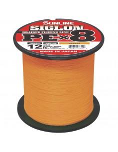 Sunline Siglon PE X8 orange a metraggio