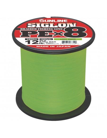 Sunline Siglon PE X8 light green