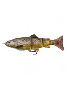 4D Line Thru Trout 20cm Dark Brown Trout