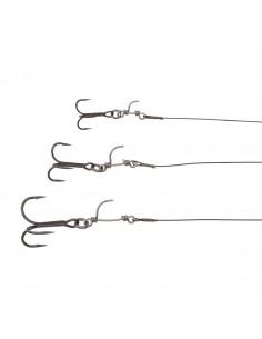 4D Line Thru Trout Trace Vorfach M (20cm)