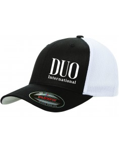 Duo Flexfit Cap Black White