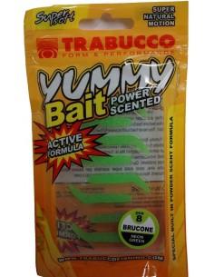 Trabucco Yummy Bait Brucone (Raupe) Neon Green
