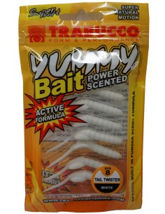 Trabucco Yummy Bait Tail Twister White