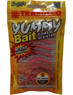 Trabucco Yummy Bait Tail Twister Bubble Gum