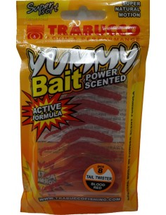 Trabucco Yummy Bait Tail Twister Blood Red