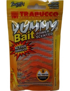 Trabucco Yummy Bait Tail Twister Orange