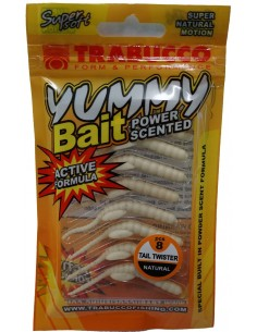 Trabucco Yummy Bait Tail Twister Natural