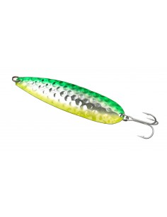 Simiris Schlepplöffel 120mm - 26g  Green Silver Yellow