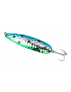 Simiris Schlepplöffel 120mm - 26g  Blue Silver Green