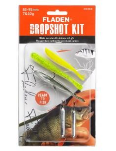 Fladen DropShot Set 2 /  85-95mm / 7&10g