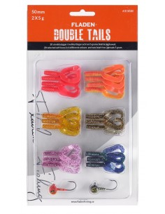 Fladen Double Tail Set 1 / 50mm - 5 g