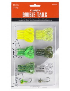Fladen Double Tail Set 2 / 50mm - 5 g
