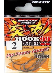 Decoy Hook Worm 22 Sz.1/0